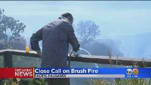 Pacific Palisades Homeowners Work To Protect Homes As Fire Creeps Near [Video]