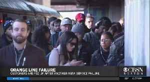 Orange Line Failure Delays Morning Commute [Video]