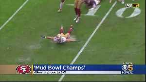 49ers Win 'Mud Bowl' [Video]
