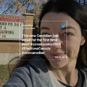 New Canadians Cast Their Votes [Video]