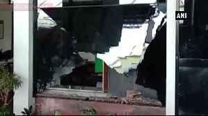 Bus explosion at Hubli Railway Station in Karnataka one injured [Video]