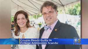 2 Parents Plead Guilty In College Admissions Scandal [Video]