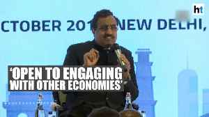 Modi govt open to greater engagement with other economies: Ram Madhav [Video]