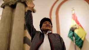 Bolivia's Morales edges closer to fourth term, but tensions rise