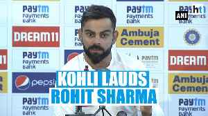 India Vs South Africa: Virat Kohli lauds Rohit Sharma after series sweep [Video]