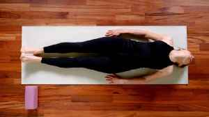 Quick Yoga Poses That Undo the Damage Caused by Sitting at Your Desk All Day [Video]