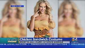 Trending: Popeye's Chicken Sandwich Costume [Video]