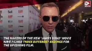 James Bond film has three endings [Video]