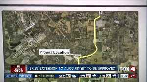 Lee County to approve purchase of land to connect SR 82 and Alico Road [Video]