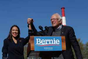 News video: Bernie Sanders Says He Would Put AOC in His Presidential Administration