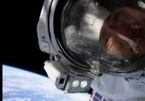 Smiling space selfies mark first ever all-female spacewalk [Video]