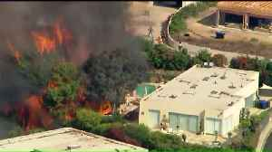 Evacuations Lifted After Fire Damages Multimillion-Dollar Homes in Los Angeles [Video]
