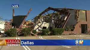News video: Clean Up Begins In Dallas After Tornado's Ravaged The Area On Sunday