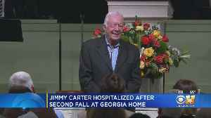 Former President Jimmy Carter Suffers Minor Pelvic Fracture After Falling At Home [Video]
