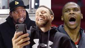 Kevin Durant Admits That He Thinks Steph Curry Is BETTER Than Russell Westbrook [Video]