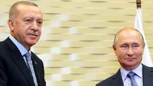 Erdogan and Putin hold press conference following talks [Video]