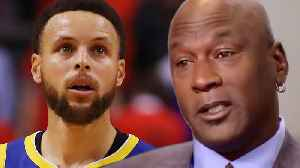 Michael Jordan Breaks The Internet After Claiming Steph Curry Is NOT A Hall Of Famer! [Video]