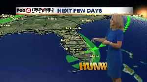 Rain Chances Increase Slightly into the Weekend [Video]