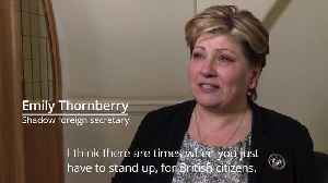 Shadow foreign secretary Emily Thornberry on Harry Dunn tragedy [Video]