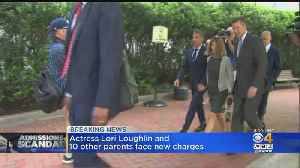 More Charges Filed Against Lori Loughlin, Other Parents In College Admissions Scam [Video]