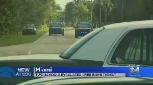 All Clear Given After 2 Miami Schools Were Evacuated Over Bomb Threat [Video]