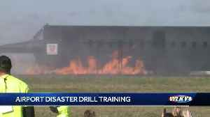 WATCH: Airport disaster training [Video]