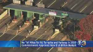 No Toll Increases For New Jersey Turnpike, Garden State Parkway [Video]