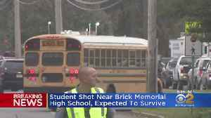 Student Expected To Survive After Shooting Near Brick Memorial High School [Video]