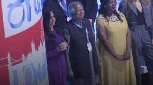 Meghan attends One Young World summit opening ceremony [Video]