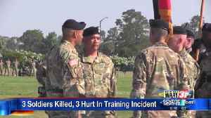 Soldiers Killed and Hurt in Ft. Stewart [Video]