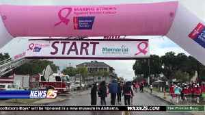 No damper on this Making Strides Against Breast Cancer fundraiser [Video]