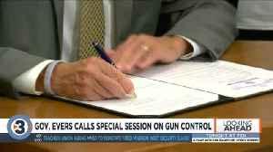Evers calls special session on gun control; Republicans say bills attack 2nd Amendment rights [Video]