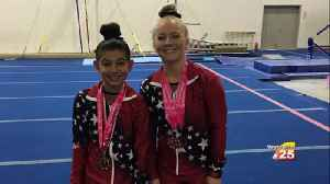 Manning Gymnastics Takes Third Place In S.A. [Video]