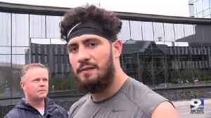 Web Extra: Cyrus Habibi-Likio on personal, team improvements (10/22/19) [Video]
