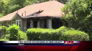 News video: Fire fatalities down to zero in Bibb County