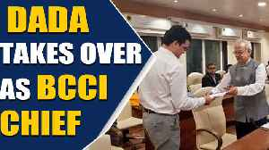 Sourav Ganguly begins new innings at BCCI [Video]
