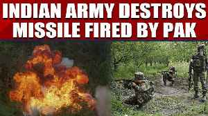 Indian Army destroys two missile shells fired by Pakistan forces, video goes viral   OneIndia News [Video]