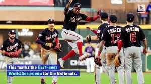 Washington Nationals Win Game One of World Series [Video]