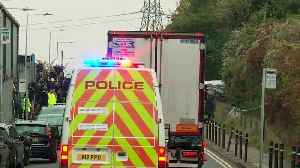 Police move lorry from Grays industrial estate [Video]