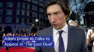 News video: Adam Driver's Next Potential Movie