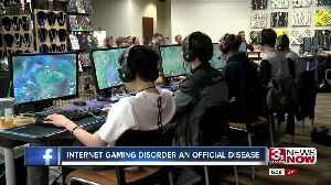 Internet Gaming Disorder an official disease [Video]