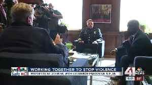 Mayor Lucas, Gov. Parson address violence in Kansas City [Video]