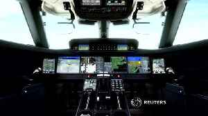 News video: Gulfstream unveils 'most spacious' G700 private jet
