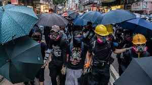 Hong Kong Legislature Formally Withdraws Bill That Sparked Protests [Video]