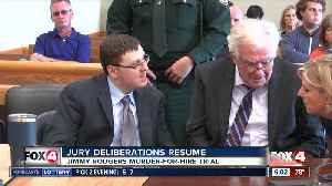 Jury deliberation resuming Wednesday in Jimmy Rodgers murder trial [Video]