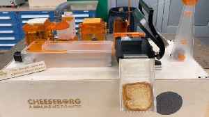 THE RISE OF THE CHEESEBORG: THESE ENGINEERING STUDENTS CREATED A MACHINE THAT COULD AUTONOMOUSLY MAKE GRILLED CHEESE SANDWICHES [Video]