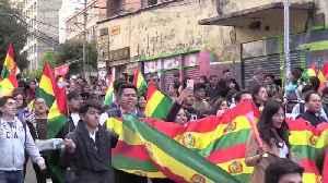 """News video: Evo Morales califica la reacción opositora de """"golpe de Estado"""" en Bolivia"""