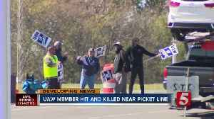 United Auto Workers Spring Hill member hit, killed outside General Motors plant [Video]