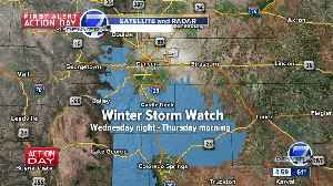 Winter weather watches posted for parts of Colo. Front Range ahead of Wednesday-Thursday snowstorm [Video]