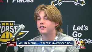 Loveland teen with chronic illness signs with Northern Kentucky University basketball team [Video]